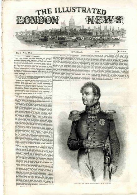 1844 ILLUSTRATED LONDON NEWS Richard Oastler BAILLIE COCHRANE Campeche Mexico (7900)